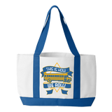 School Bus Driver - How We Roll - White / Royal - 1