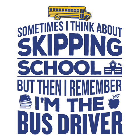 School Bus Driver - Skipping -  - 4