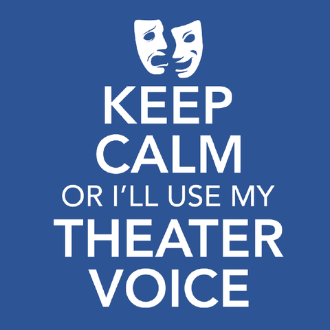 Theater - Keep Calm Voice - Kids -  - 5