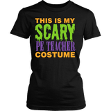 Phys Ed - Halloween Costume - District Made Womens Shirt / Black / S - 2