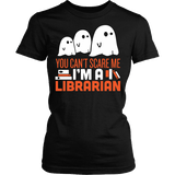 Librarian - Halloween GhostT-shirt - Keep It School - 2