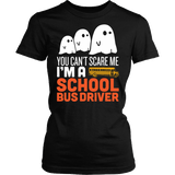 School Bus Driver - Halloween GhostT-shirt - Keep It School - 2