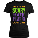 Math - Halloween Costume - District Made Womens Shirt / Black / S - 2