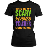 Science - Halloween Costume - District Made Womens Shirt / Black / S - 2