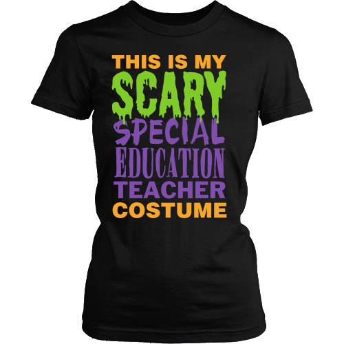 Special Education - Halloween Costume - District Made Womens Shirt / Black / S - 1