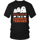 Kindergarten - Halloween Ghost - District Unisex Shirt / Black / S - 2