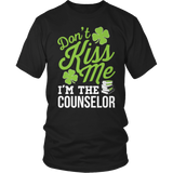 Counselor - Don't Kiss Me - District Unisex Shirt / Black / S - 3
