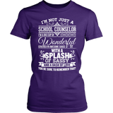 Counselor - Big Cup - District Made Womens Shirt / Purple / S - 3