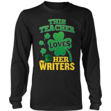 English - St. Patrick's Writers - District Long Sleeve / Black / S - 10