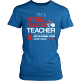Phys Ed - Cooler - District Made Womens Shirt / Royal / S - 8