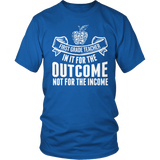 First Grade - Outcome - District Unisex Shirt / Royal Blue / S - 8