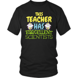 Science - Eggcellent - District Unisex Shirt / Black / S - 7