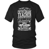 Fifth Grade - Big Cup - District Unisex Shirt / Black / S - 6