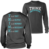 Teacher - THINK - District Long Sleeve / Charcoal / S - 5