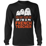 French - Halloween Ghost - District Long Sleeve / Black / S - 3