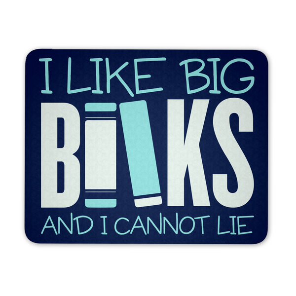 Librarian - Big Books Mousepad - Mousepad - 1