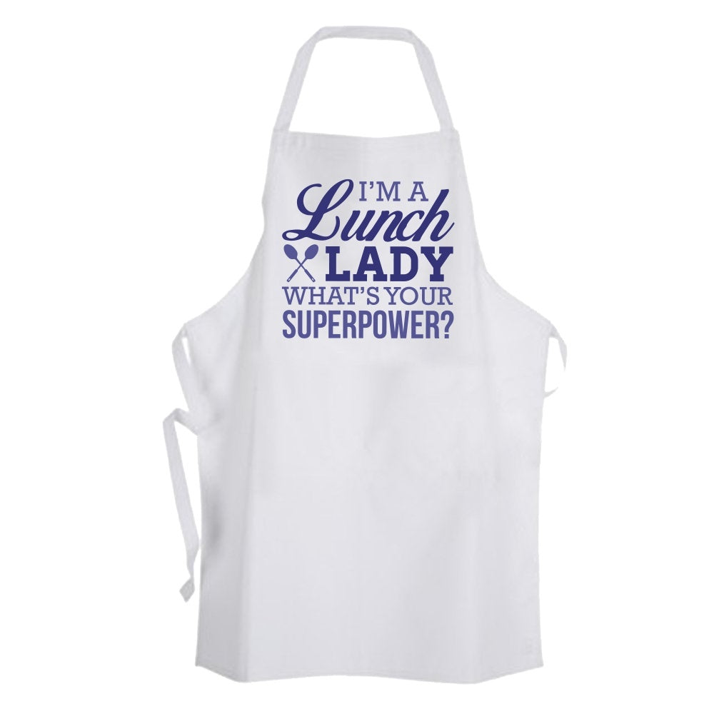 White apron meals - Lunch Lady Superpower