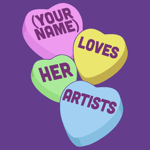 Art - Candy Hearts -  - 15