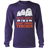 First Grade - Ghosts - District Long Sleeve / Purple / S - 9