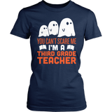 Third Grade - Ghosts - District Made Womens Shirt / Navy / S - 2