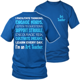 Art - Engage Minds - District Unisex Shirt / Royal Blue / S - 8