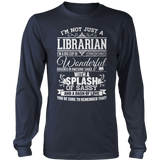 Librarian - Big Cup - District Long Sleeve / Navy / S - 10