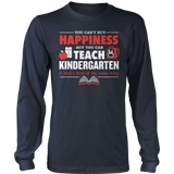 Kindergarten - Happiness - District Long Sleeve / Navy / S - 2