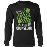 Counselor - Don't Kiss Me - District Long Sleeve / Black / S - 10