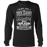 Math - Big Cup - District Long Sleeve / Black / S - 9