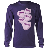 Theater - Candy Hearts - District Long Sleeve / Purple / S - 11