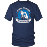 Crossing Guard - Not For The Weak - District Unisex Shirt / Navy / S - 1