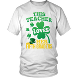 Fifth Grade - St. Patrick's Fifth Graders - District Unisex Shirt / White / S - 2