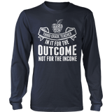 Third Grade - Outcome - District Long Sleeve / Navy / S - 10