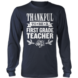 First Grade - Thankful - District Long Sleeve / Navy / S - 2