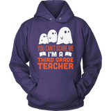 Third Grade - Ghosts - Hoodie / Purple / S - 12