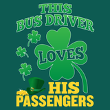 School Bus Driver - St. Patrick's Day His Passengers -  - 12