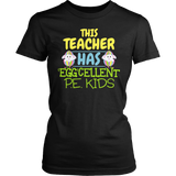 Phys Ed - Eggcellent PE Kids - District Made Womens Shirt / Black / S - 4