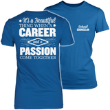 Counselor - Beautiful Thing - District Made Womens Shirt / Royal / S - 4