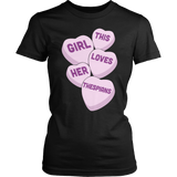 Theater - Candy Hearts - District Made Womens Shirt / Black / S - 3