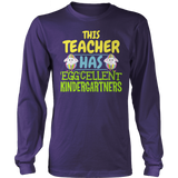 Kindergarten - Eggcellent - District Long Sleeve / Purple / S - 10