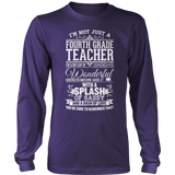 Fourth Grade - Big Cup - District Long Sleeve / Purple / S - 11
