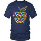 Teacher - Easter Apple - District Unisex Shirt / Navy / S - 6