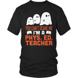 Phys Ed - Ghosts - District Unisex Shirt / Black / S - 4
