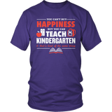 Kindergarten - Happiness - District Unisex Shirt / Purple / S - 10