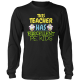 Phys Ed - Eggcellent PE Kids - District Long Sleeve / Black / S - 12