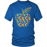 Teacher - Easter Apple - District Unisex Shirt / Royal Blue / S - 5