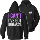 Theater - I Cant - Hoodie / Black / S - 12
