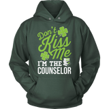 Counselor - Don't Kiss Me - Hoodie / Dark Green / S - 12