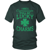 Phys Ed - Lucky Charms - District Unisex Shirt / Dark Green / S - 2