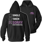 Theater - Single. Taken. - Hoodie / Black / S - 12